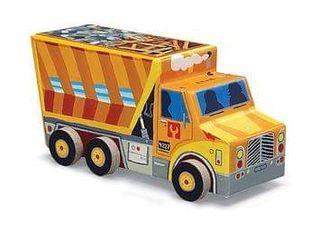 Puzzle Camión contenedor