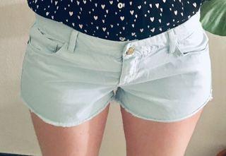 Pantalon short turquesa