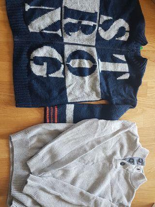 2 jersey niño T 8 Benetton y NKY
