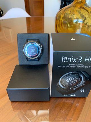 Garmin Fénix 3 HR sapphire edition