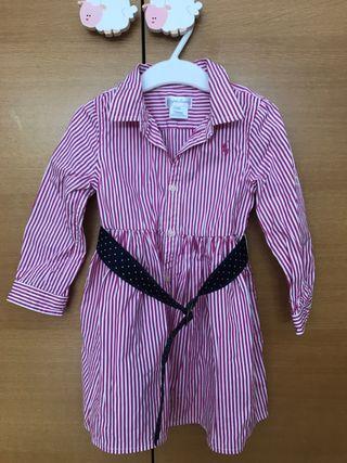 Vestido Ralph Lauren 18 meses