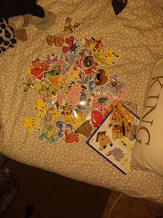 pegatinas pokemon y pikachu lego