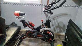 Bicicleta spinning volante inercia 24kg