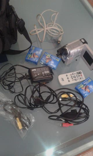Cámara de vídeo JVC Mini DVD