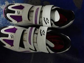 zapatos de bici mujer
