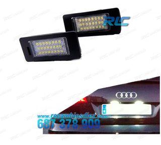 Luces de matrícula LED Audi Q5 (2008-2014)