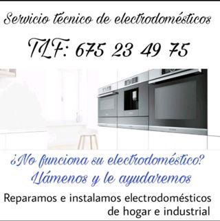 Reparaciones de electrodomésticos económicas