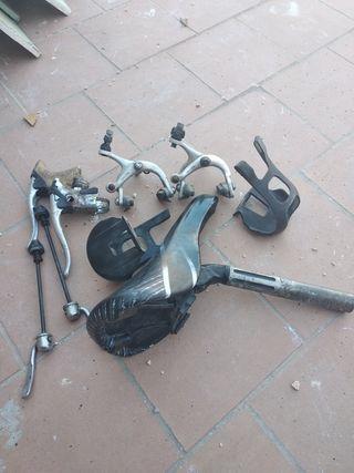 material bicicleta