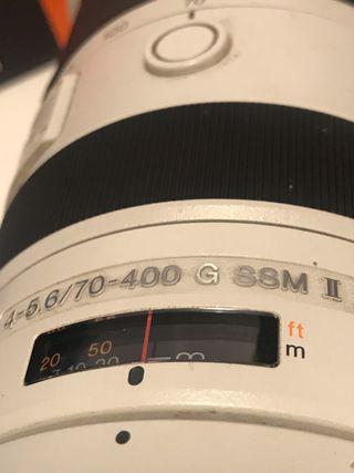 Sony 70-400 f4-5,6 II