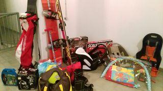 snow ski equipación maxicosi Scalextric trona
