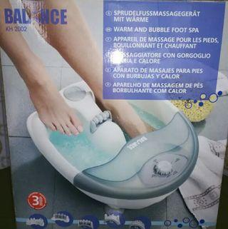 Aparato masajeador para pies
