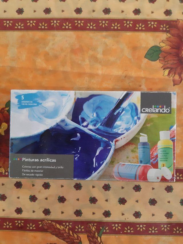 lote de material y pinturas