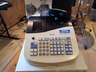 registradora Olivetti ECR 2300 euro