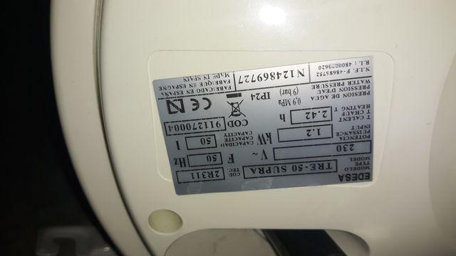 Termo electrico 50 litros Edesa