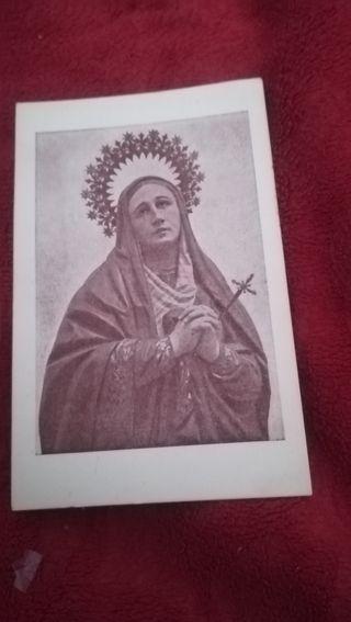 A, rec, de 1950 Virgen de los Dolores