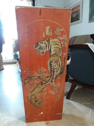 Mueble Madera Tigre