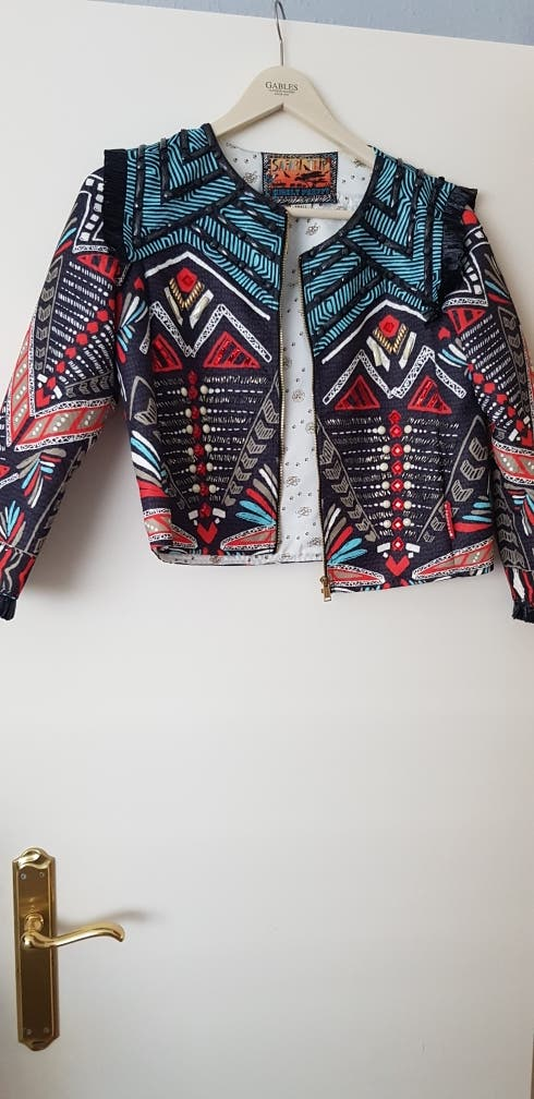 chaqueta holly preppy talla S