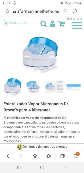 Esterilizador microndas Dr.Brown