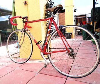 bicicleta clasica de carretera.