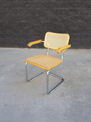 Silla Cesca (B64) de Marcel Breuer