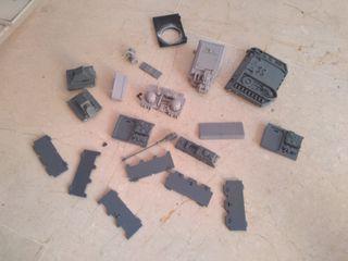 piezas vehiculos warhammer 40000