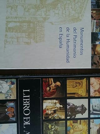 Lote libro Monumentos + libro del Arte