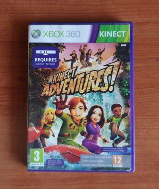 juego kinect adventures xbox 360