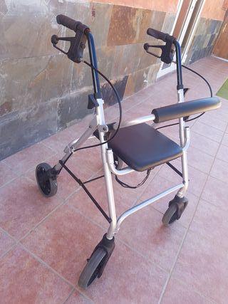 andador ortopédico con asiento