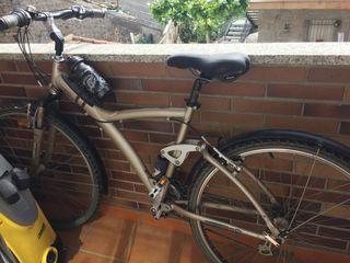 Vendo bicicleta con muy poco uso