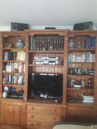 Mueble librería TV