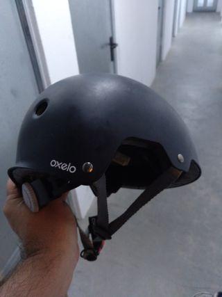 Casco bicicleta - patinaje - skate t.55-58 junior