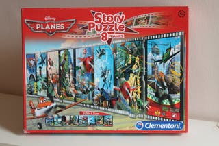 Puzzle - Story puzzle in 8 frames Disney Planes