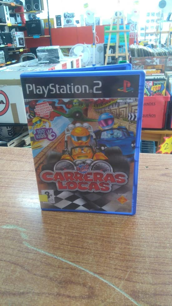 JUEGO PS2 BUZZ JUNIOR CARRERAS LOCAS