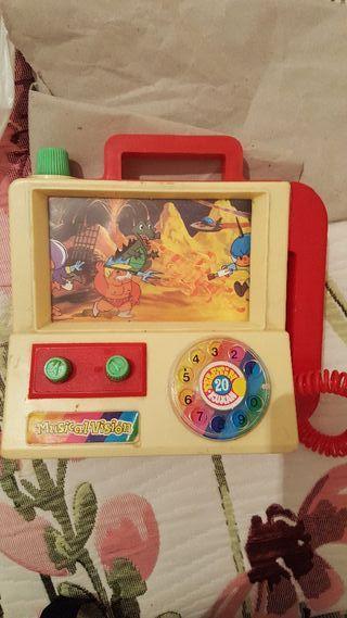 Teléfono musical con imágenes