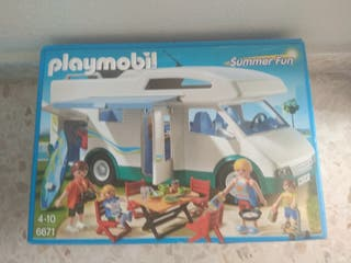Playmobil con caja
