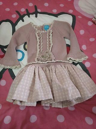 vestido Talla 24 meses