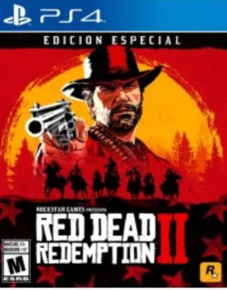 Red dead redemption 2 ps4 edición especial
