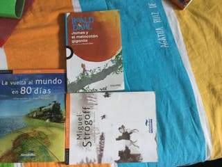 Set de 3 libros