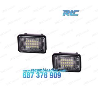 Luces de matrícula LED Mercedes Benz GLK X204 (200