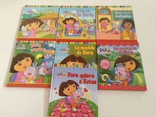 7 libros de Dora la exploradora. Como nuevos