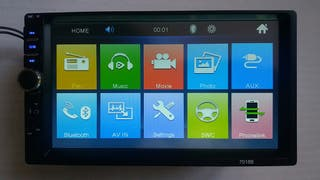 "Autoradio 2DIN 7"" USB mirrorlink"