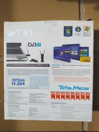 Sintonizadora externa de señal de TV Digital