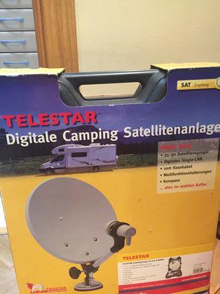 Antena TV para caravana