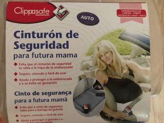 Cinturón de seguridad para embarazada.