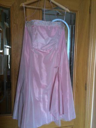 96a4956e5 Vestido de fiesta Rosa Clara de segunda mano en Madrid en WALLAPOP