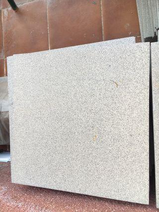 Suelo porcelanico gris 30x30