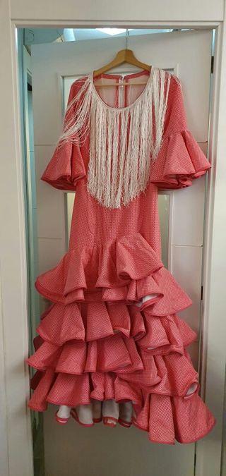 traje de flamenca / gitana/ ferias y romerías