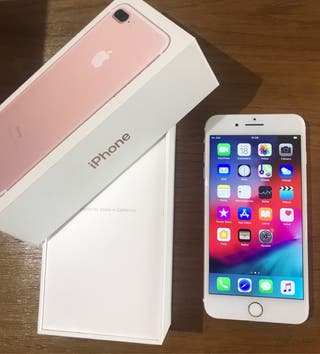 Iphone 7 plus 128gb rosa PERFECTO