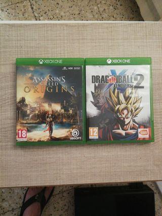 juegos Xbox one cambio