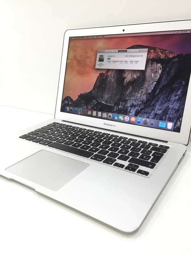 "APPLE LAPTOP MACBOOK AIR 13"" PRINCIPIOS 2015 I5"